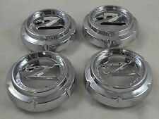 Zinik Wheels Chrome Custom Wheel Center Cap Caps Set 4 (1) # MS-CAP-Z197