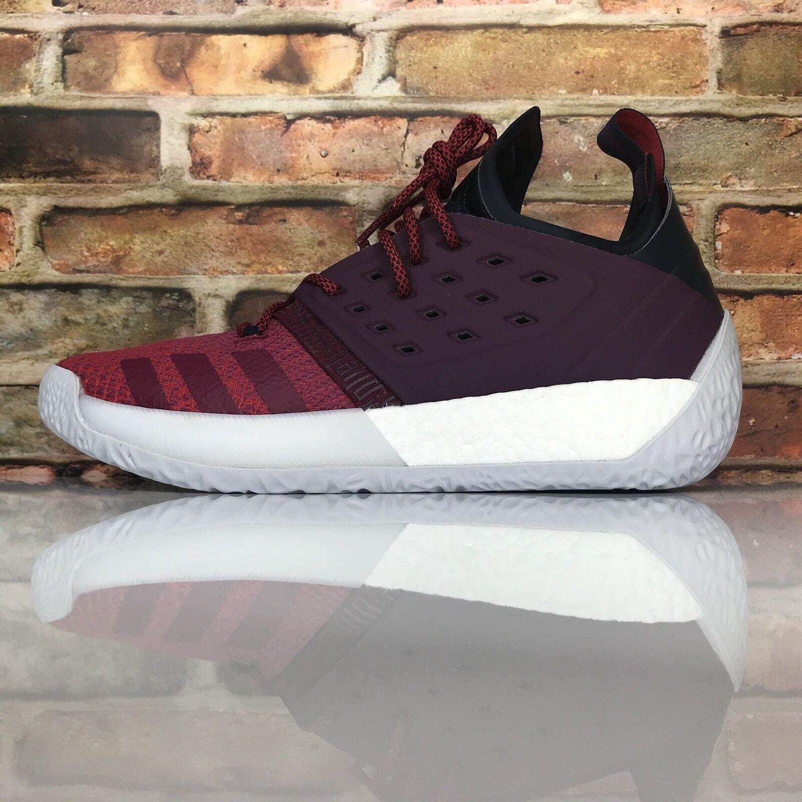 Adidas James Harden MVP Vol. 2 Men 14 Basketball Shoes Ignite Maroon AH2124