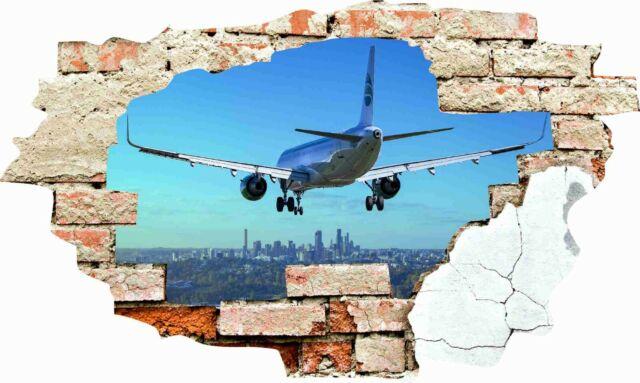 Wandtattoo Mauer 3D Wandbild Wandsticker Aufkleber Loch Wanddurchbruch Sticker