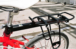 Bicycle Bike Seatpost Quick Release Alloy Rear Rack Carrier