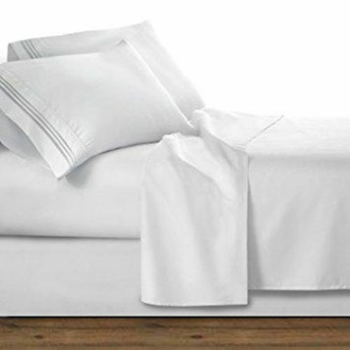2500 Premier Collection Sheet Set WHITE