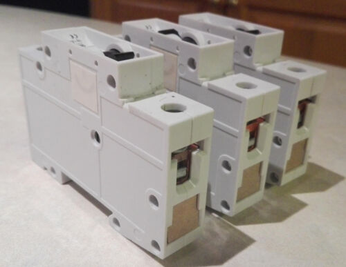 SIEMENS 5SX2 circuit breaker lot of 3