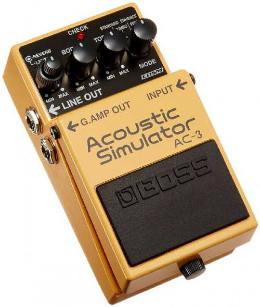 BOSS AC Acoustic Guitar Simulator Built-in High-quality Reverb