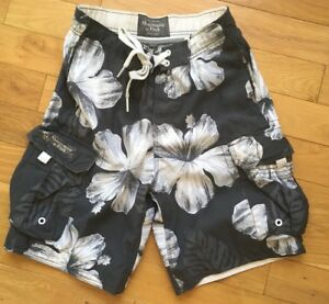 Abercrombie-and-Fitch-de-hombre-talla-s-Playa-Natacion-Board-Shorts