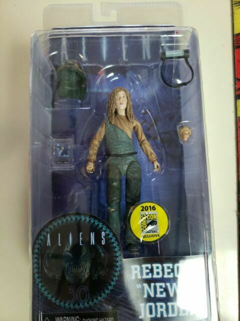 "NECA Aliens Rebecca /""Newt/"" Jorden 2016 Comic-Con SDCC Exclusive Action Figure"