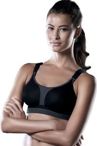058a861553 Image is loading Anita-Active-Wirefree-Max-Support-Racerback-Sports-Bra-