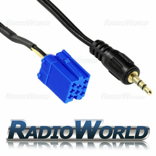 Blaupunkt chapado en oro Aux de interfaz de entrada adaptador para iPod//MP3 Aux Radio de coche