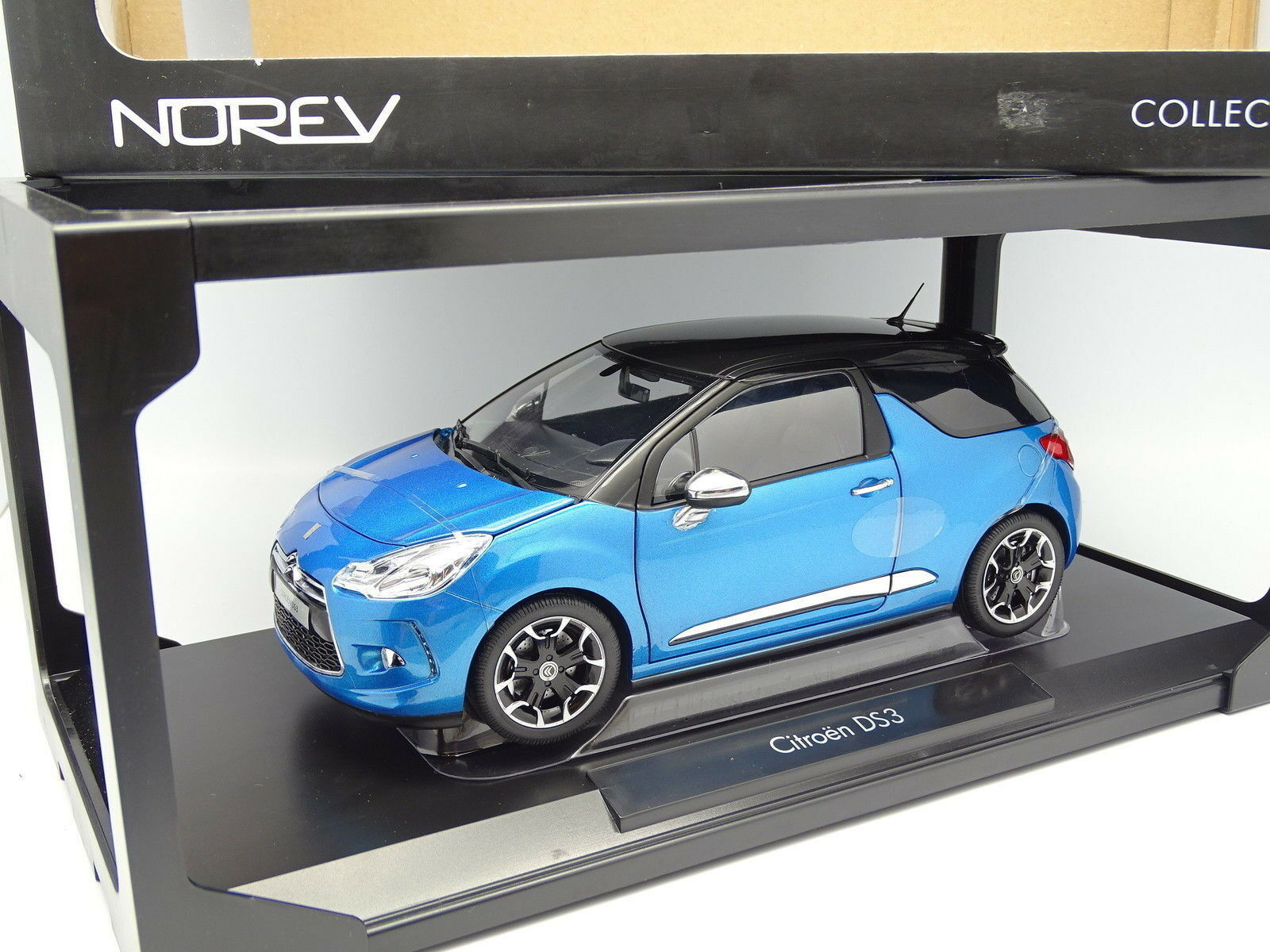 Norev 1 18 18 18 - Citroen DS3 bluee 362d36