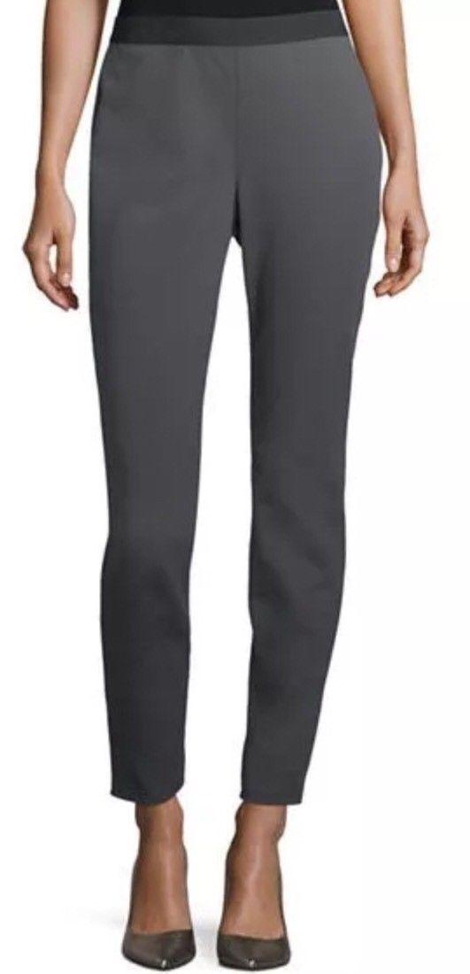 Eileen Fisher Tencel Stretch Ponte Legging, Bark, XL, NWT