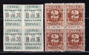 Espana-VITORIA-Emisiones-Locales-Patrioticas-Bloque-4-MNH