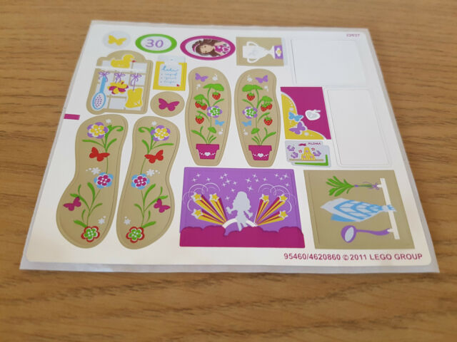 LEGO FRIENDS - 3315 Olivia's House 3315stk01 - STICKER SET