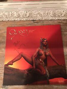 Nicki-Minaj-Queen-Signed-Lithograph-12x12-Auto-Pen-Autograph