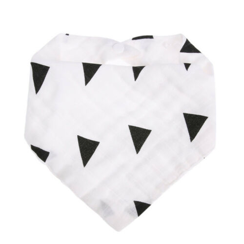 Milk Bottle Print Baby Saliva Towel Lovely Head Scarf Feeding Bibs Burp Cloth