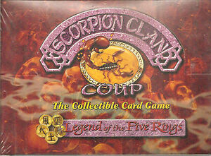 L5R Legend Of Five Rings Scorpion Clan Coup Scroll 1 Sealed NIB Combo Box  631806055262 | eBay