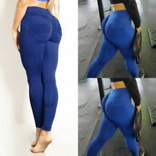 12e1958ab61dd item 4 Sport Womens Compression Fitness Leggings Running Yoga Gym Pants  Workout US M972 -Sport Womens Compression Fitness Leggings Running Yoga Gym  Pants ...