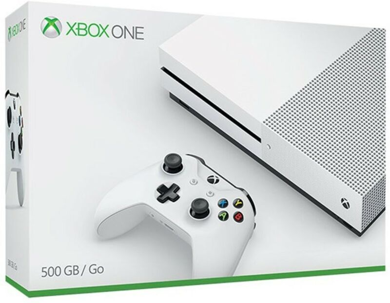 Brand New! Microsoft Xbox One S 500GB Console