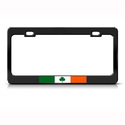 IRELAND FLAG IRISH Metal License Plate Frame Tag Holder