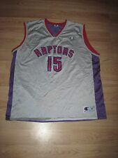 Vintage Champion Toronto Raptors Vince Carter 2 Color Basketball Jersey/Free SH!