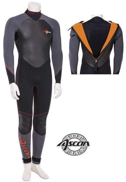 Ascan Neoprenanzug Style Thermo 5 5 4mm  Gr. 52 Neopren Anzug rotuziert