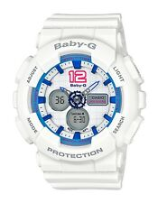 Casio Baby-G * BA120-7B Sporty Color White Anadigi Watch COD PayPal