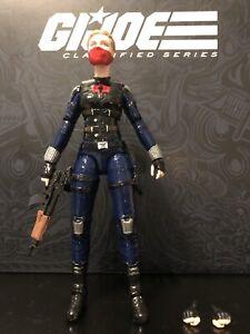 """Custom GI Joe Classified 6"""" Female Cobra Trooper"""