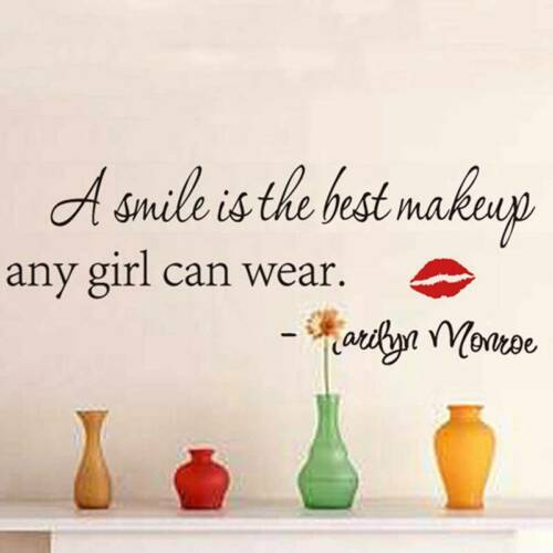 Fashion Wall Sticker Art Quote Vinyl Wall Stickers Home Decal DecorationY