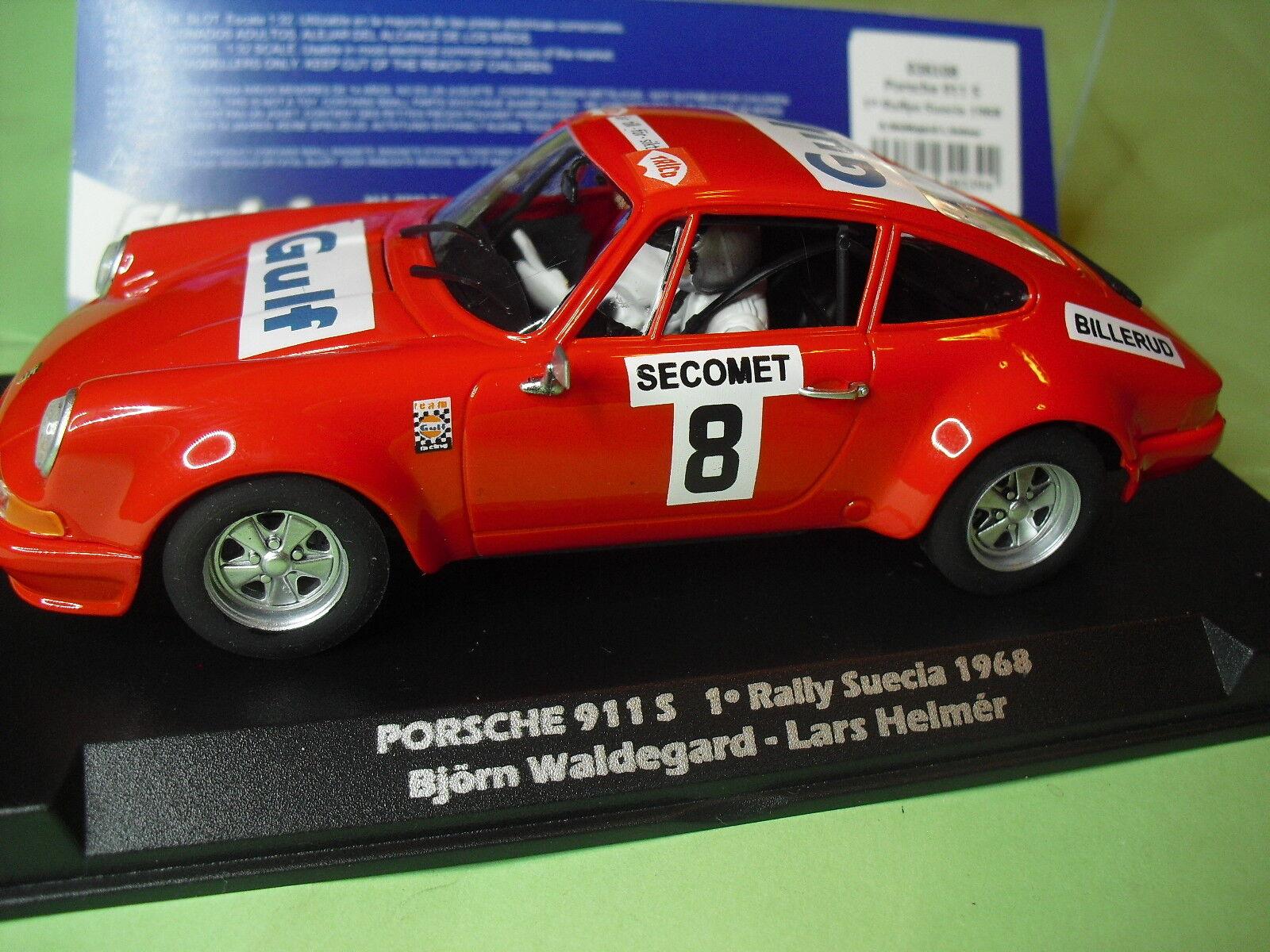 flygagaslot 036108 Porsche 911 rally Sverige 1968 - Gulf Ny