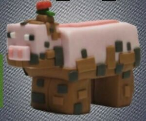 Handmade Cake Topper Decoration Muddy Pig From Minecraft Earth Ebay