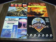 Collectible Vintage Lot Of 4 Vinyl LPs 33 RPM Records: The six Day War & More