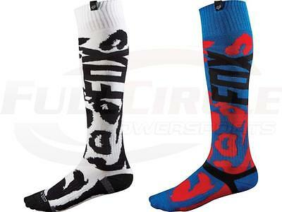 FOX Racing Coolmax Thin Socks Black//Gray Large 10-13