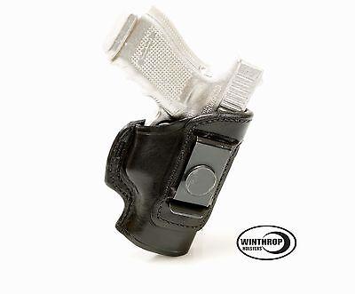 "Walther PK380 3.66/"" Barrel IWB No Shield Single Clip Holster R//H Black"