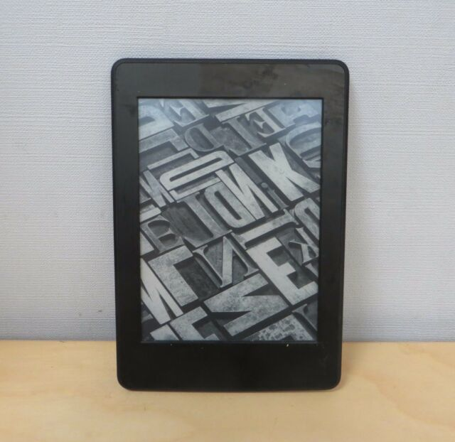 Amazon Kindle Paperwhite 3rd generación 4 GB Wi-Fi 6 in (approx. 15.24 cm) - Negro E-Book Reader 300 PPI