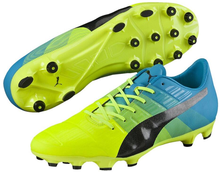 Puma evoPower 1.3 Artificial Grass Mens Football stivali - giallo