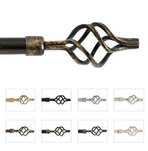 Bastone-tenda-estendibile-120-210cm-o-160-300cm-ferro-asta-con-anelli-supporti