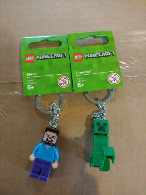 LEGO Minecraft Steve Key Chain 853818