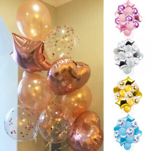 14pcs-Wedding-Birthday-Ballons-Latex-Foil-Balloon-Kids-Boy-Girl-Baby-Party-Decor