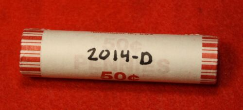 2014-D LINCOLN UNION SHIELD CENT PENNY 50 COIN ROLL RED BU COLLECTOR GIFT