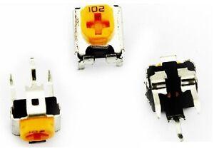 10PCS WH06-2C 102 1 kohm Variable Résistance Potentiomètre jaune