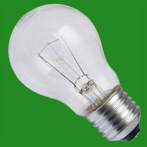 12x 60W Incandescent Clear GLS Light Bulbs ES E27 Edison Screw