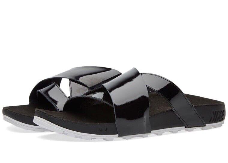 nike taupo prime 849756-001 cuir nous noire diapositives 9 nouvelles diapositives noire 108f4f