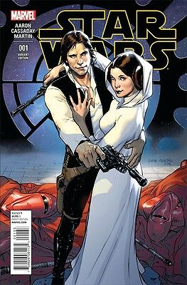 STAR WARS #1 Sara PICHELLI 1:20 Incentive VARIANT Cover MARVEL COMICS Jan 2015!
