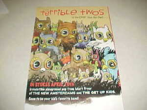 Terrible-Twos-034-If-you-ever-see-an-owl-034-PROMO-ONLY-POSTER-PERFECT-CNDT