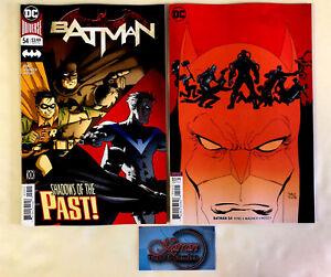 Batman-54-Main-Variant-Cover-Set-Tom-King-Lee-Weeks-DC-Comics-2018-NM