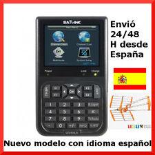 MEDIDOR DE CAMPO TV TDT DVB-T TERRESTRE SATLINK WS-6905. BUSCADOR SENAL TDT