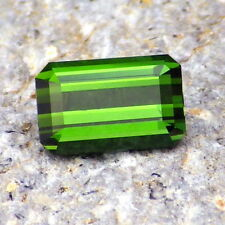 UNHEATED TOURMALINE-NAMIBIA 1.0Ct FLAWLESS-NATURAL GRASS GREEN COLOR-FOR JEWELRY