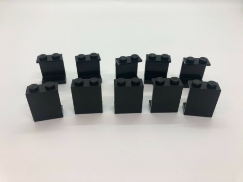 schwarz closed stud black panel Lego ® 10x Paneele 1x2x2 4864a
