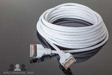 Masterlink Kabel 10m weiß mit Plugs für Bang & Olufsen Beovision Beosound Beo