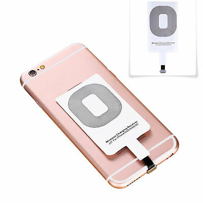 Qi Wireless Charger Adapter Charging Receiver For iPhone Samsung Andriod Type-C