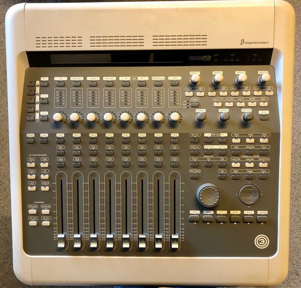 Recording/Interface, Avid Digidesign 003