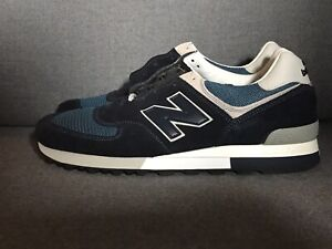 low priced a55c5 a4c5b Details about [OM576OGN] Mens New Balance OM576 - Made in England UK Navy  Grey 576 Shoes Sz 11